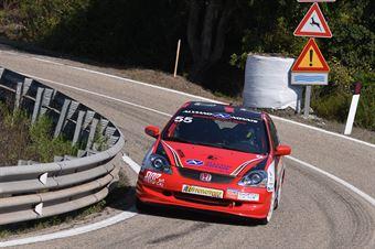 NONNIS Igor ( Porto Cervo Racing , Honda Civic Type R #55), CAMPIONATO ITALIANO VELOCITÀ MONTAGNA