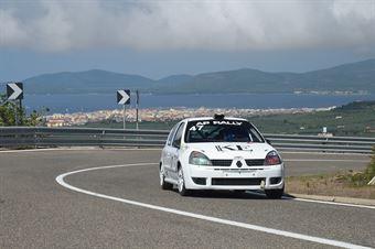 DERIU Antonio ( Renault Clio #47), CAMPIONATO ITALIANO VELOCITÀ MONTAGNA