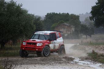 Mengozzi Manuele,Schiumarini Andrea(Mitsubishi Pajero Pinin,#302), CAMPIONATO ITALIANO CROSS COUNTRY
