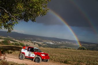 Mengozzi Manuele, Schiumarini Andrea(Mitsubishi pinin, #302), CAMPIONATO ITALIANO CROSS COUNTRY