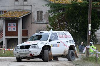 Sabellico Stefano,Taloni Andrea(Suzuki gran vitara,#307), CAMPIONATO ITALIANO CROSS COUNTRY