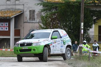 Cantarello Mauro,Facile Francesco(New Gran Vitara,#312), CAMPIONATO ITALIANO CROSS COUNTRY
