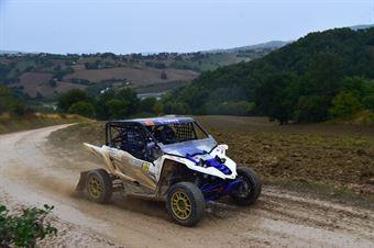Ventura Amerigo,Ramacciotti Daiana(Yamaha Yxz R,#313), CAMPIONATO ITALIANO CROSS COUNTRY