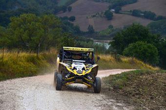 Bosio Gianluca,Mangiarotti Daniele(Yamaha yxz,#316), CAMPIONATO ITALIANO CROSS COUNTRY
