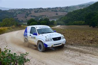 Lelli Samuele,Menetti Gilberto(Suzuki Gran Vitara,#321), CAMPIONATO ITALIANO CROSS COUNTRY