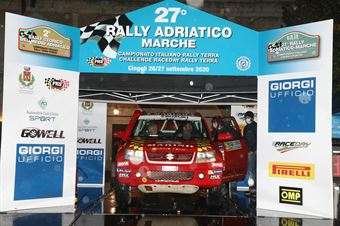 Marino Gambazza Chinti,Manfredini Paolo(New Gran Vitara,#305), CAMPIONATO ITALIANO CROSS COUNTRY
