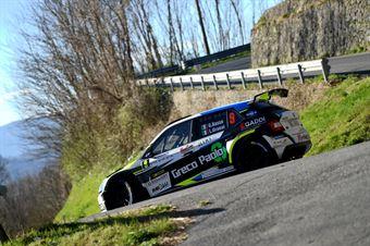 Giandomenico Basso, Lorenzo Granai (Skoda Fabia R5 #9, Freddys Team), COPPA RALLY DI ZONA