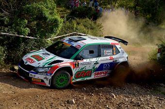 Giuseppe Dettori, Claudio Pisano (Skoda Fabia R5 #2, Team Autoservice Sport), COPPA RALLY DI ZONA