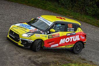 Simone Goldoni Eric Macori, Suzuki Swift Hybrid R1 #100, COPPA RALLY DI ZONA