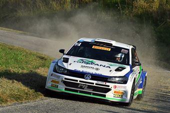 Corrado Pinzano; Marco Zegna (Volkswagen  Polo R5; New Drivers Team), COPPA RALLY DI ZONA