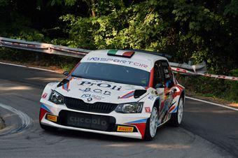 Profeta Alessio Raccuia Sergio, Skoda Fabia R5 #12, Island Motorsport, COPPA RALLY DI ZONA