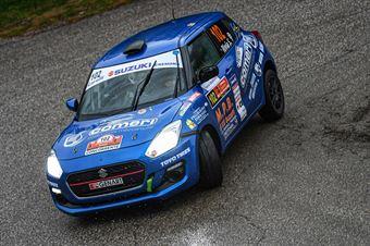 Simone Rivia Andrea Dresti, Suzuki Swift R1 #102, Novara Corse, COPPA RALLY DI ZONA