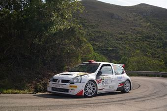 Vescovi Roberto Guzzi Giancarla, Renault Clio S1600 #33                               , COPPA RALLY DI ZONA