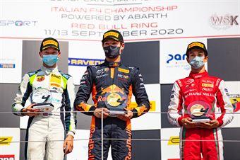 Race 2 Main Podium, ITALIAN F.4 CHAMPIONSHIP POWERED BY ABARTH