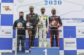 podium race 1, ITALIAN F.4 CHAMPIONSHIP POWERED BY ABARTH