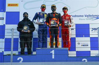 podium race 3, ITALIAN F.4 CHAMPIONSHIP POWERED BY ABARTH