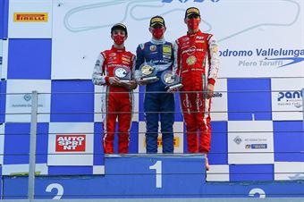 podium race 3 rookie, ITALIAN F.4 CHAMPIONSHIP POWERED BY ABARTH