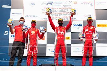 Race 2 Main and Rookie Podium, FORMULA REGIONAL EUROPEAN CHAMPIONSHIP