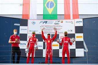 Race 3 Main and Rookie Podium, FORMULA REGIONAL EUROPEAN CHAMPIONSHIP