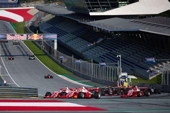Race 3 Start, FORMULA REGIONAL EUROPEAN CHAMPIONSHIP