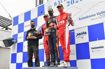 Hauger Dennis, Pasma Patrik, Rasmussen Oliver, race 1, F. REGIONAL EUROPEAN CHAMPIONSHIP BY ALPINE