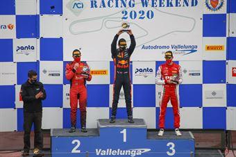 podium race 1, F. REGIONAL EUROPEAN CHAMPIONSHIP BY ALPINE