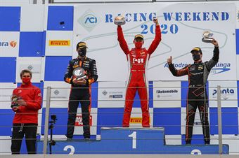 podium race 3, F. REGIONAL EUROPEAN CHAMPIONSHIP BY ALPINE