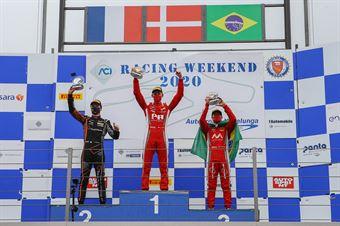 podium race 3 rookie, F. REGIONAL EUROPEAN CHAMPIONSHIP BY ALPINE