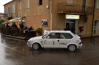 Luise Matteo,Ferro Melissa(Fiat Ritmo 130,Team Bassano,#1), CAMPIONATO ITALIANO RALLY AUTO STORICHE