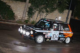Mearini Francesco,Alicervi Filippo(A112 Abarth,Etruria racing,#104), CAMPIONATO ITALIANO RALLY AUTO STORICHE