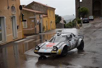 Dino Tolfo,Paganoni Giulia(Lancia Stratos,Team Bassano,#11), CAMPIONATO ITALIANO RALLY AUTO STORICHE