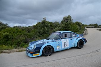 Lo Presti Beniamino,Zambiasi Lucia(Porsche 911sc,Team Bassano,#15), CAMPIONATO ITALIANO RALLY AUTO STORICHE