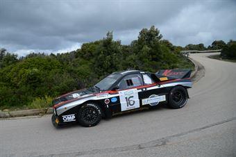 Valente Edoardo,Revenu Jeanne Francoise(LAncia 037,Team Bassano,#16), CAMPIONATO ITALIANO RALLY AUTO STORICHE