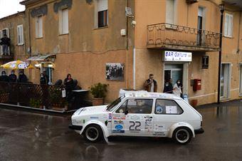 Giudicelli Giuseppe Massimo,Ferrari Paola(Vw Golf Gti,Team Bassano,#22), CAMPIONATO ITALIANO RALLY AUTO STORICHE