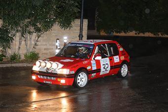 Perrone Bruno Antonio,Ladu Piergiorgio(Peugeot 205 gti,#32), CAMPIONATO ITALIANO RALLY AUTO STORICHE