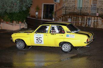 Pischedda Giovanni,Pischedda Luca(Opel Ascona,#35), CAMPIONATO ITALIANO RALLY AUTO STORICHE