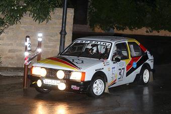 Goeckel Peter,Goeckel Elke(Opel Kadet,Team Bassano,#37), CAMPIONATO ITALIANO RALLY AUTO STORICHE