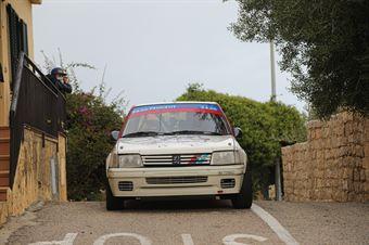 Bardini James,Bogoni Barbara(Peugeot 205 rally,Team Bassano,#39), CAMPIONATO ITALIANO RALLY AUTO STORICHE