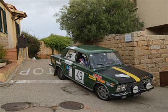 Di Lauro Leopoldo,Nuvoli Giovanni Patrizio(Fiat 125 Special,Team Bassano,#49), CAMPIONATO ITALIANO RALLY AUTO STORICHE