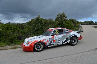 Pagella Maurizio,Zumelli Luisa(Porsche Carrera Rs,Rododendri Historic,#6), CAMPIONATO ITALIANO RALLY AUTO STORICHE
