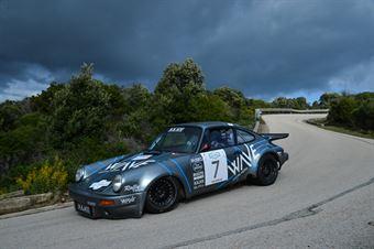 Iccolti Agostini,Zanella Flavio(Porsche Carrera rs,Team Bassano,#7), CAMPIONATO ITALIANO RALLY AUTO STORICHE