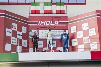 Podium DSG Race1, TCR ITALY TOURING CAR CHAMPIONSHIP