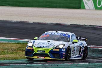 Emanuele Romani Gianluca Carboni, Porsche 718 Cayman GT4 #223, Autorlando Sport, CAMPIONATO ITALIANO GRAN TURISMO