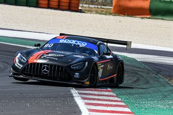 Luca Segù Baruch Bar, Mercedes AMG GT3 #90, AKM Motorsport , CAMPIONATO ITALIANO GRAN TURISMO