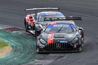 Luca Segù Baruch Bar, Mercedes AMG GT3 #90, AKM Motorsport, CAMPIONATO ITALIANO GRAN TURISMO