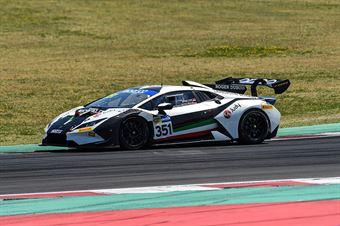 PAVLOVIC MIlos FISCHBAUM Michael, Lamborghini Huracán #351, Bonaldi Motorsport, CAMPIONATO ITALIANO GRAN TURISMO