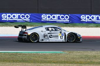 Riccardo Agostini Lorenzo Ferrari, Audi R8 LMS #12, Audi Sport Italia, CAMPIONATO ITALIANO GRAN TURISMO
