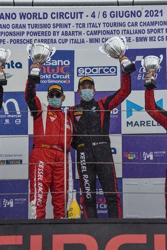 Steve Earle Niccolò Schirò , Ferrari 488 Evo GT3 #11, Kessel Racing, CAMPIONATO ITALIANO GRAN TURISMO