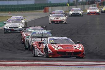 Steve Earle Schirò Niccolò, Ferrari 488 Evo GT3 #7, Kessel Racing, CAMPIONATO ITALIANO GRAN TURISMO