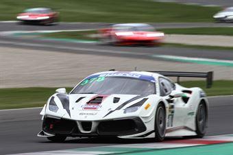 Axel Sartingen Francesco Lopez, Ferrari 488 Challenge Evo GT CUP #378, RS Racing , CAMPIONATO ITALIANO GRAN TURISMO